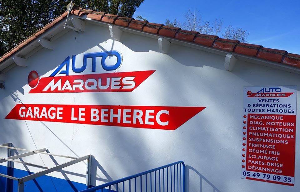 Vie conomique for Garage auto les milles